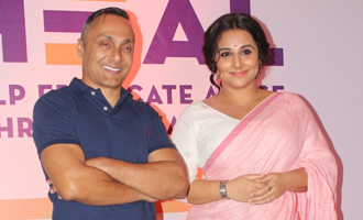 Vidya Balan & Rahul Bose at Launch Special Cause Initiative Regarding Child Sex Abuse