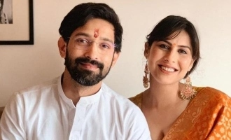 Vikrant Massey shares a glimpse of his new home with fiance Sheetal Thakur.