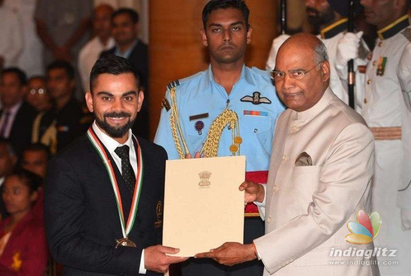 After The Khel Ratna Award, Virat Kohli Pens An Emotional Note For His Lucky Charm