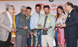 Vivek Oberoi & Neetu Chandra at 'Say No To Tobacco & Yes To Life' Press Meet
