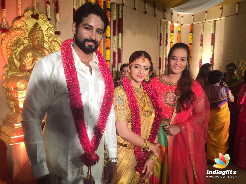 Events Actress Bhavana Wedding Reception Movie Launch And Press