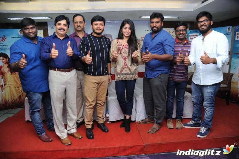 'Chamak' Success Press Meet