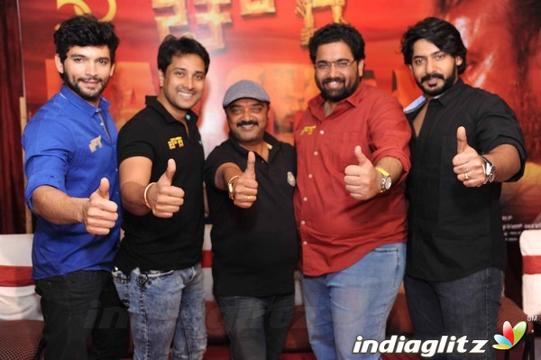 'Chowka' Movie Success meet