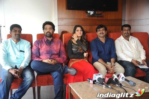 Contract Film Shooting Press Meet