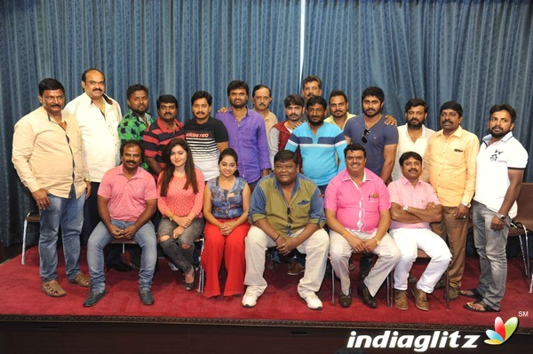 Nan Magle Heroine Film Press Meet