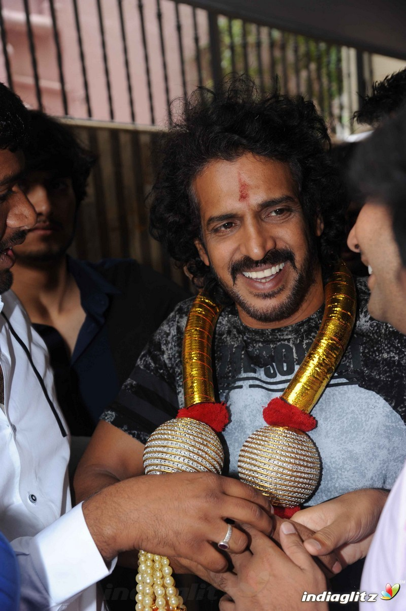 Events - Upendra Birthday Celebration Movie Launch and Press