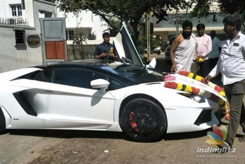Darshan First To Buy Lamborghini