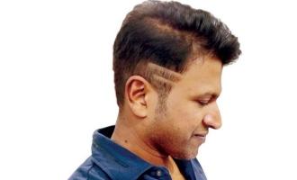 Puneeth New Hair Style Kannada News Indiaglitz Com