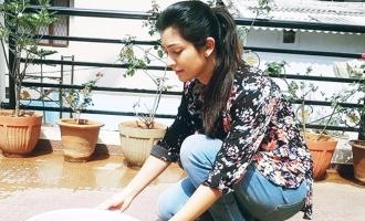 Radhika, Andrita, Diganth gesture for birds