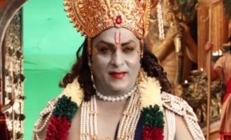 V Ravichandran looks of Sri Krishna