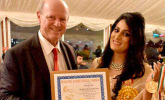 Another Glory For Roopa Iyer