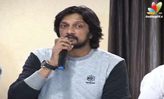 Golisoda Kannada Movie Logo Launch  Kolla Praveen, Raghu Jaya, Rajesh Ramanath
