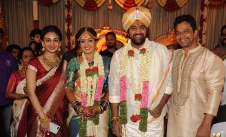 Meghana Raj With Chiranjeevi Sarja Wedding