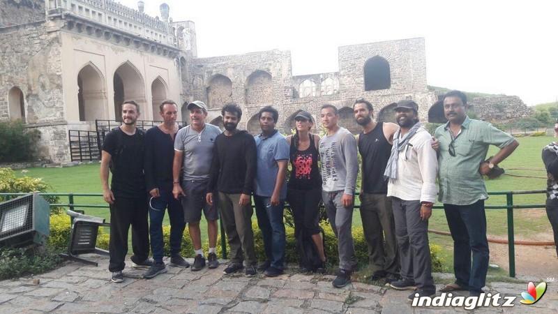 Pranav Mohanlal's 'Aadhi' Onlocation