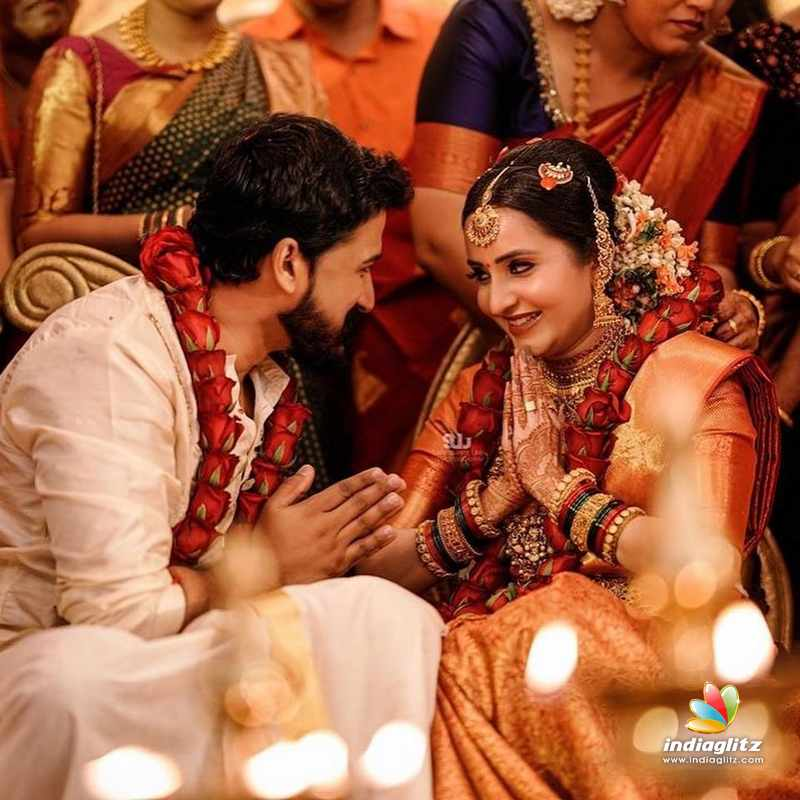 Actress Bhama marries Arun - Wedding pictures