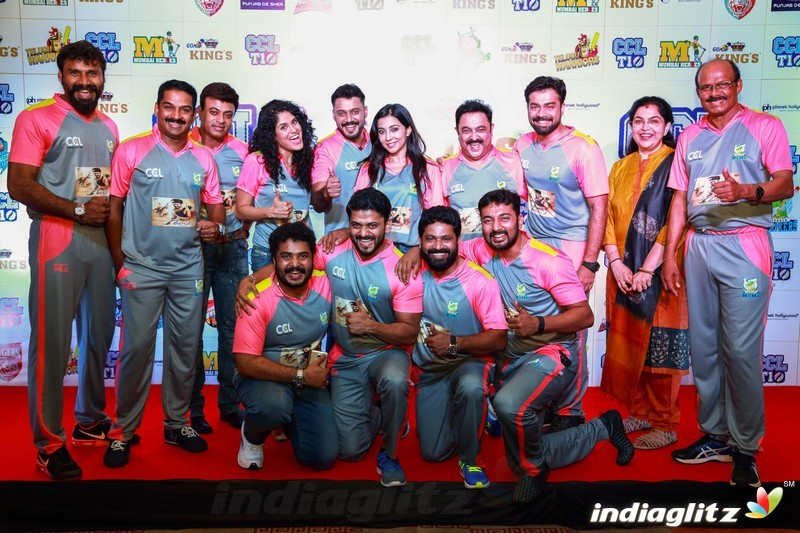 CCL Kerala Strikers Curtain Raiser