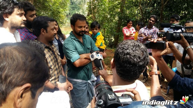 Kunchacko Boban's Birthday Celebration