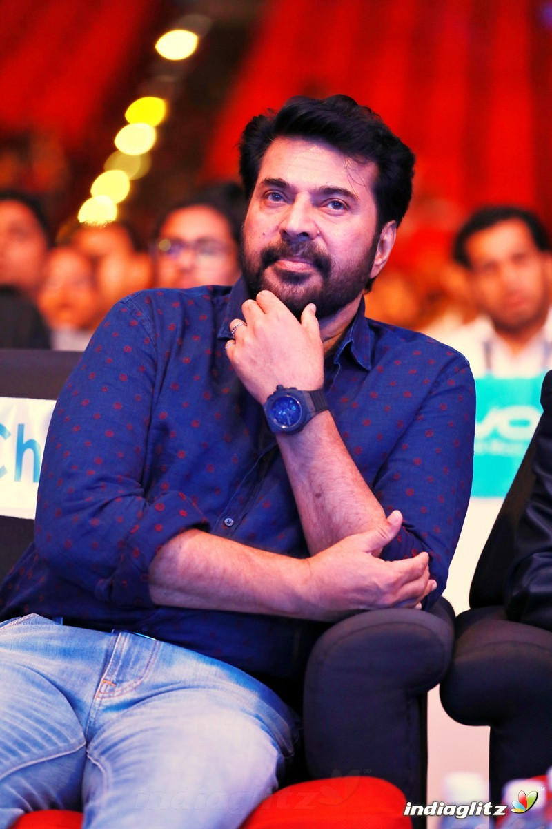 Mammootty at VIVO Phone Launch