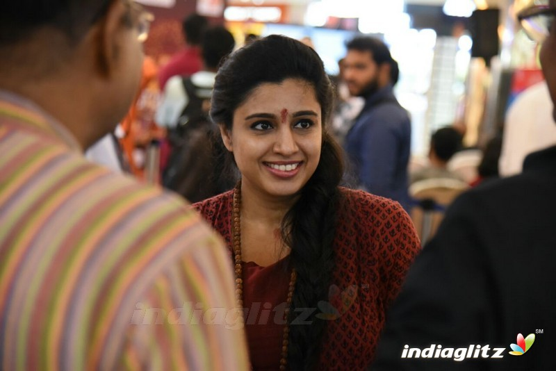 Samyktha Varma Spotted her at Actress Utthaara Unni's Short film launch