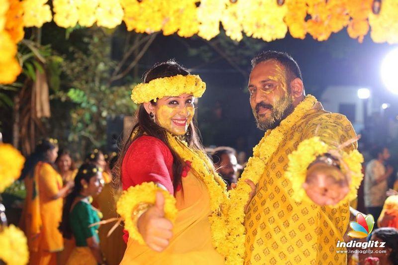 Sowbhagya Venkitesh - Mehendi Ceremony Stills