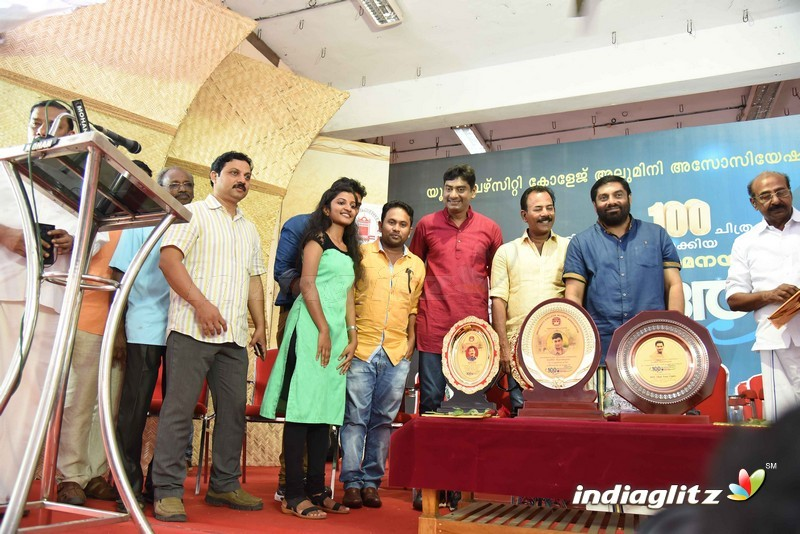 Actor Sudheer Karamana 100th movie celebration