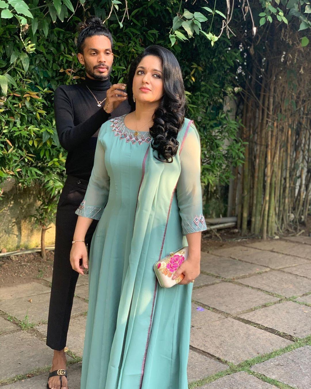 Kavya Madhavan's pregnant