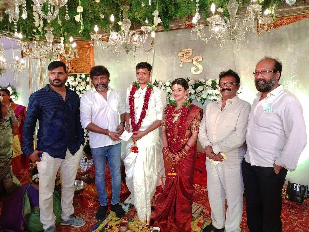 anandhi wedding pics