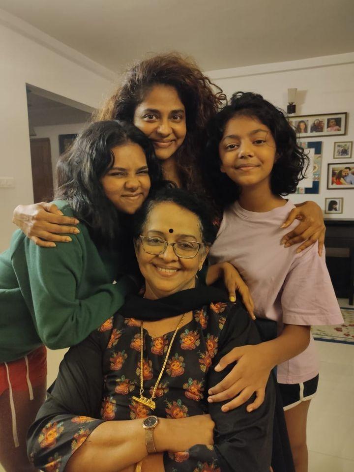 sukumaran family new pics