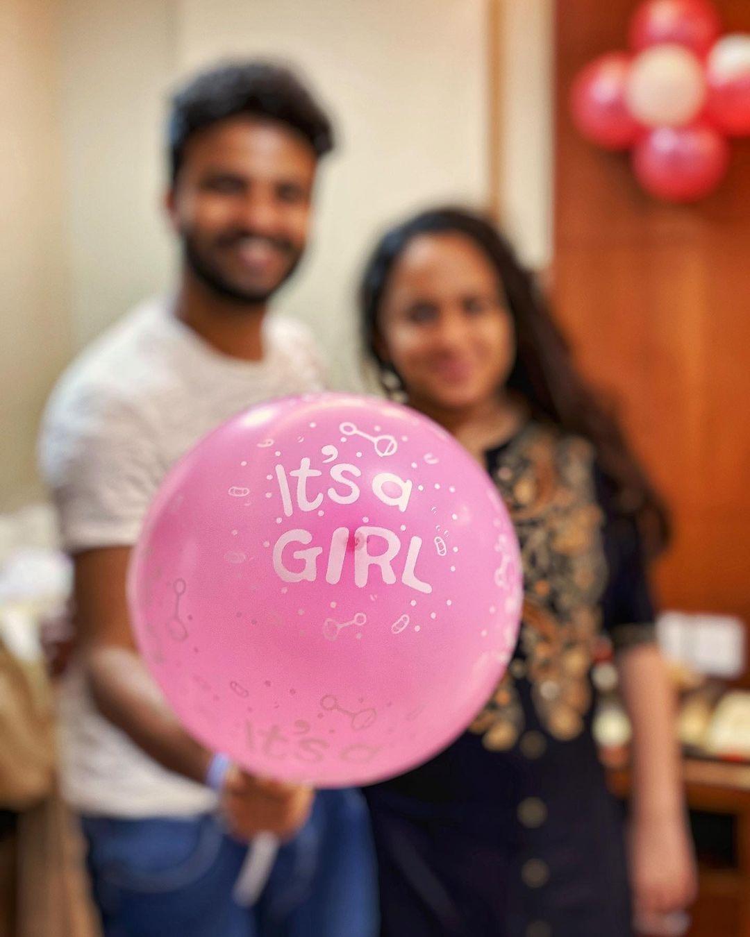 Neeraj Madhav baby girl
