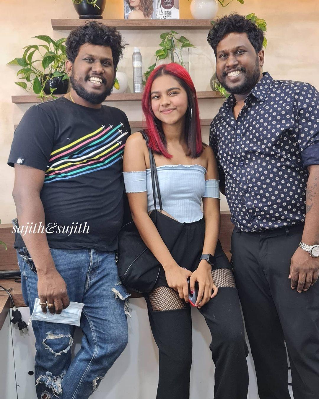 Prarthana indrajith hair color