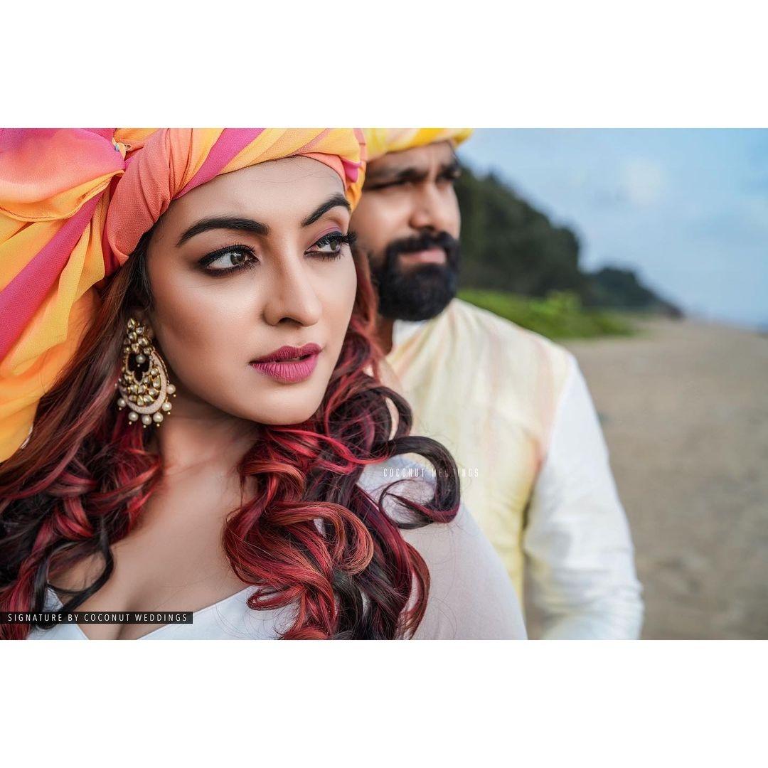 durga krishna wedding pics