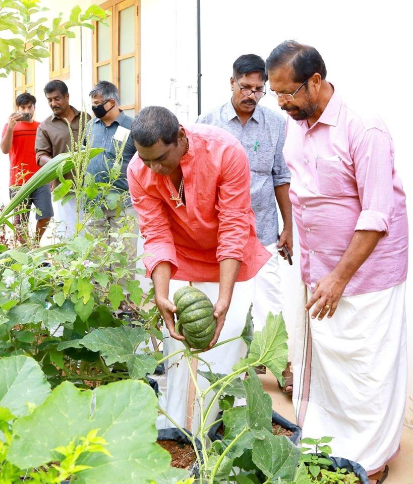 sudheer karamana farming