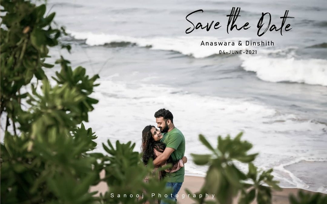 anashwara wedding pics