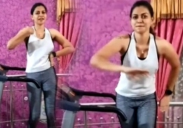 WATCH: Actress Anusree's dance on treadmill goes VIRAL!