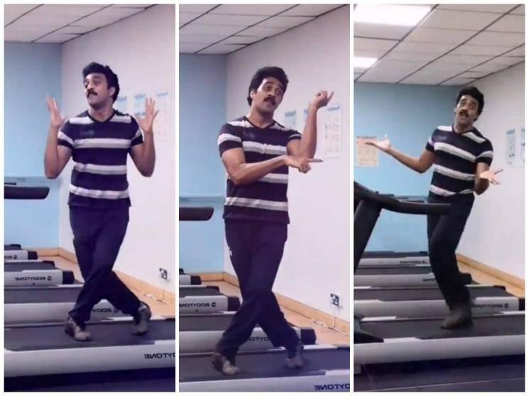 annatjhey treadmill dance