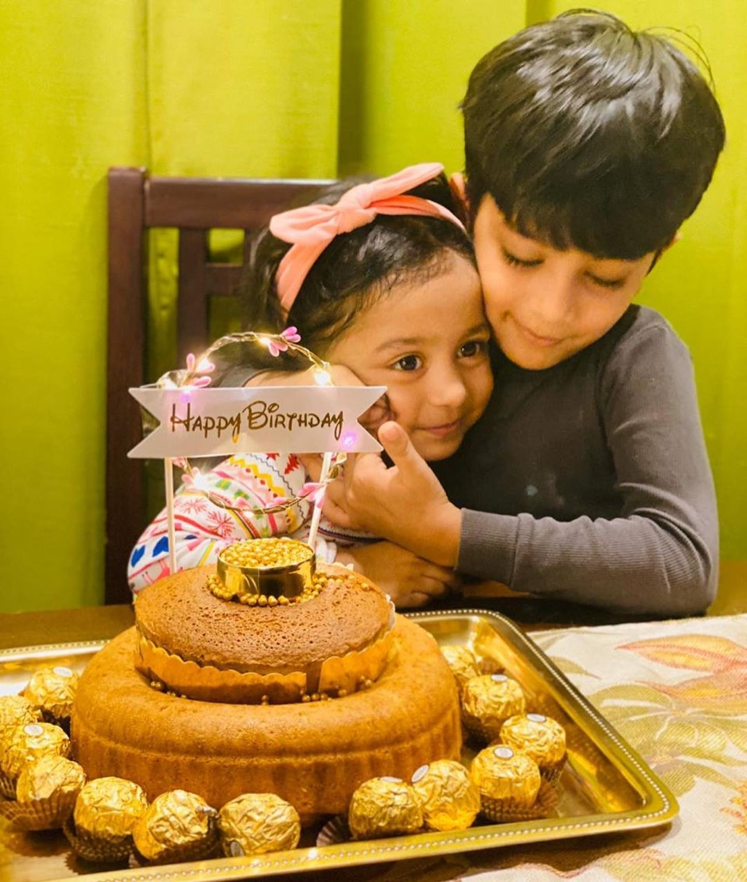 asif ali baby birthday