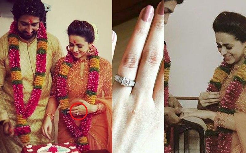 bhavana wedding ring