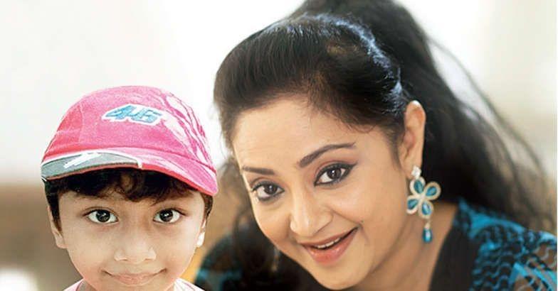 Charmila with son