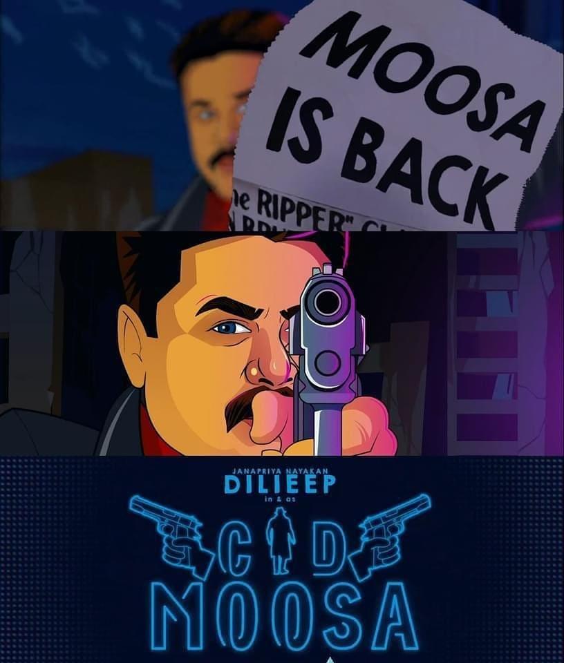 cid moosa Dileep sequel
