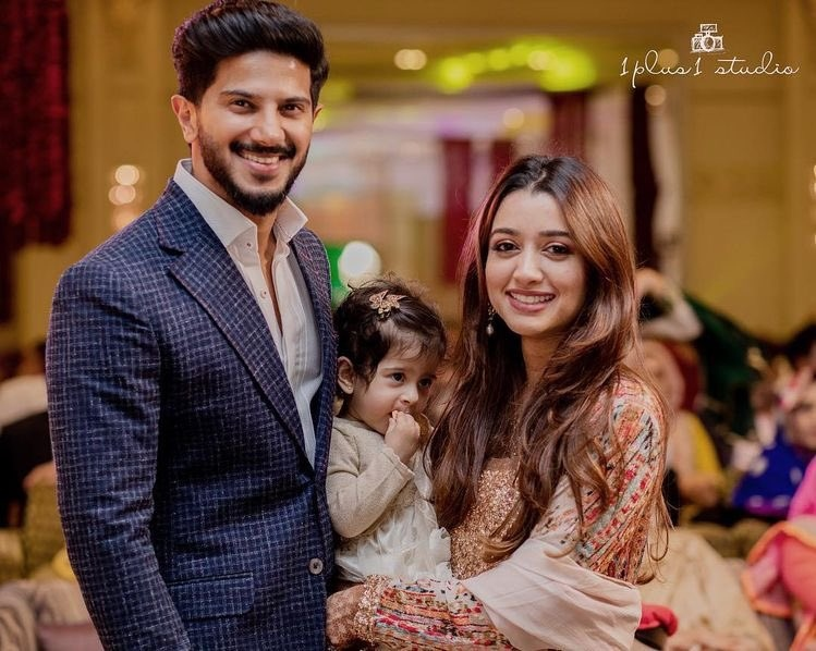 dulquer family photos