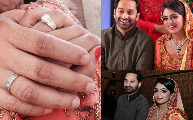 nazriya wedding