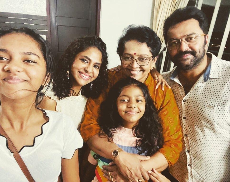 indrajith family