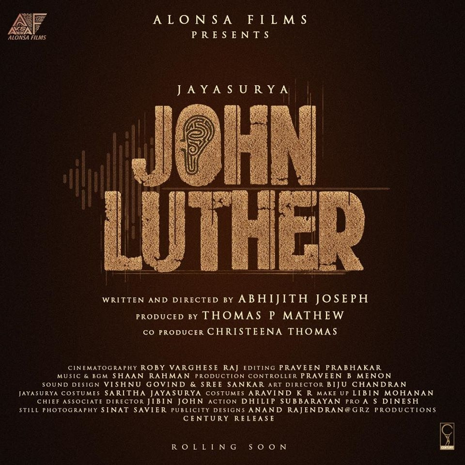 John Luther title poster