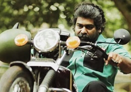 Wow! Joju George performs uber cool bike stunt