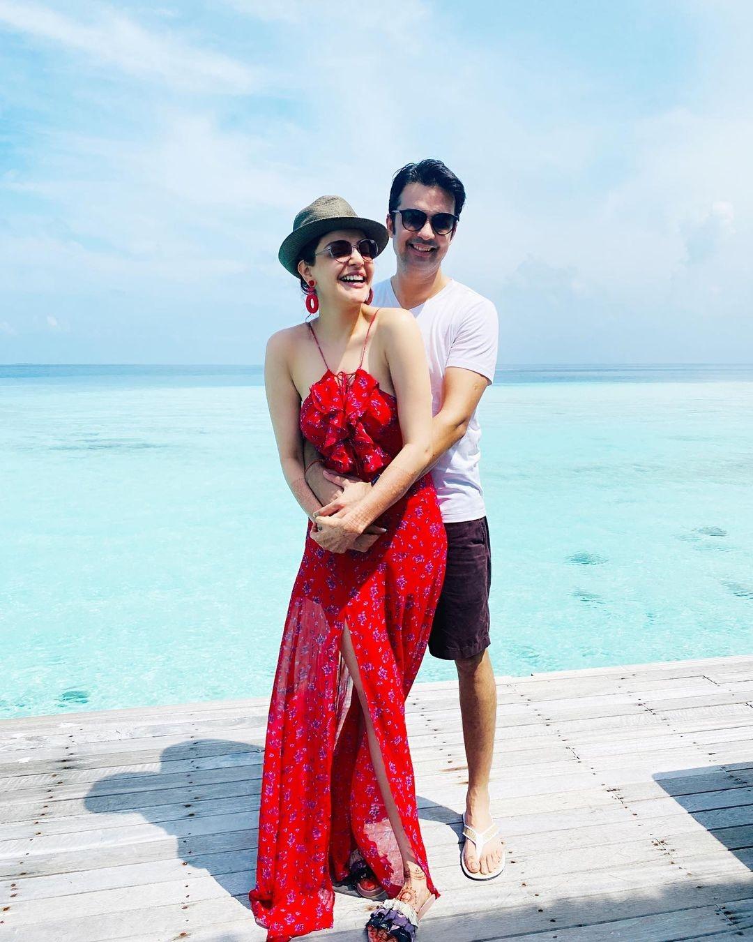 kajal honeymoon