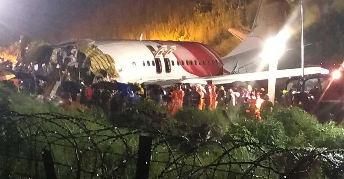 flight crash kerala