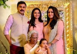 Viral pic: Dileep and Kavya spotted with their daughter Mahalakshmi
