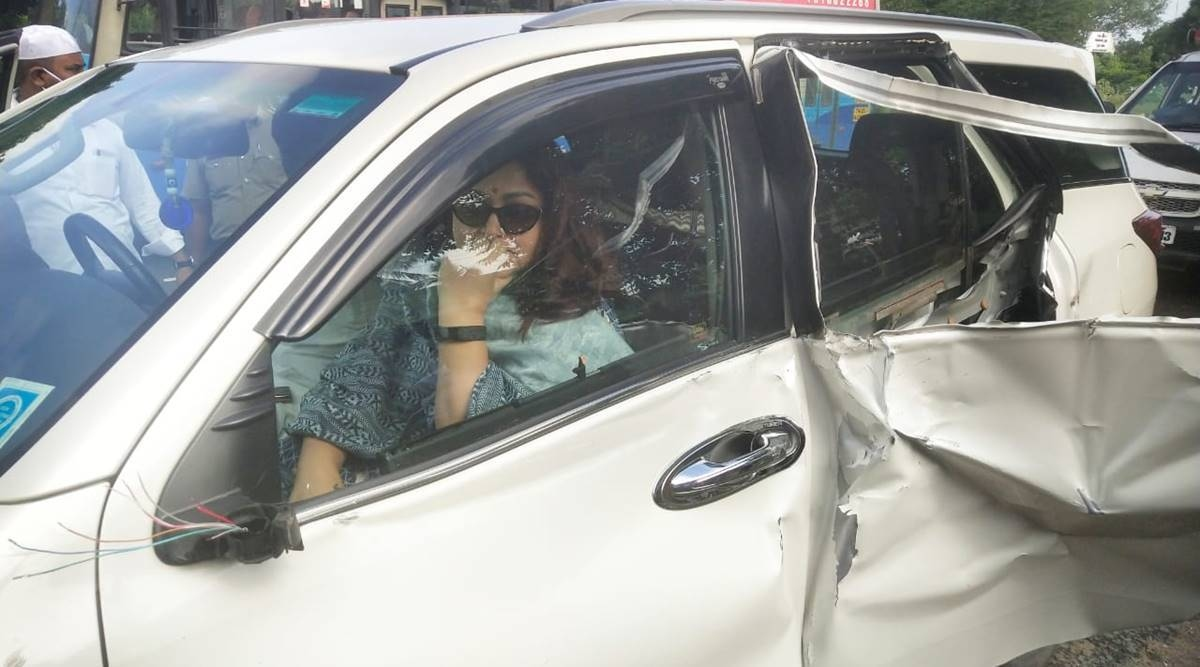 Khushboo actress accident