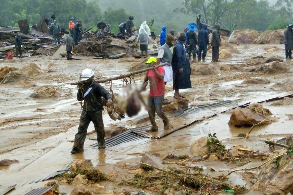 munnar landslide death toll