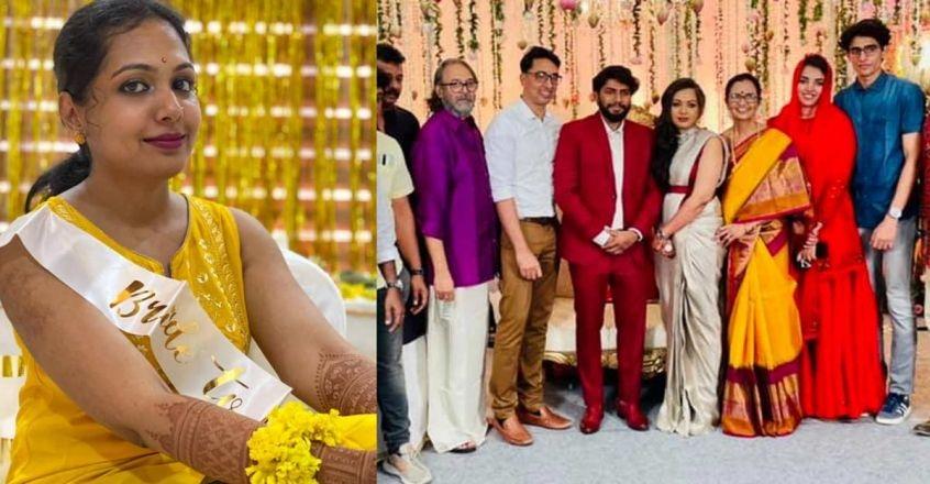 Madhavi Madhulal wedding pics